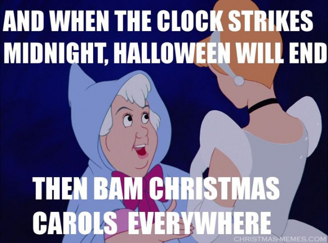 Halloween Over? Bring on Christmas!